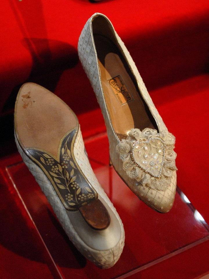 scarpe da sposa di lady diana