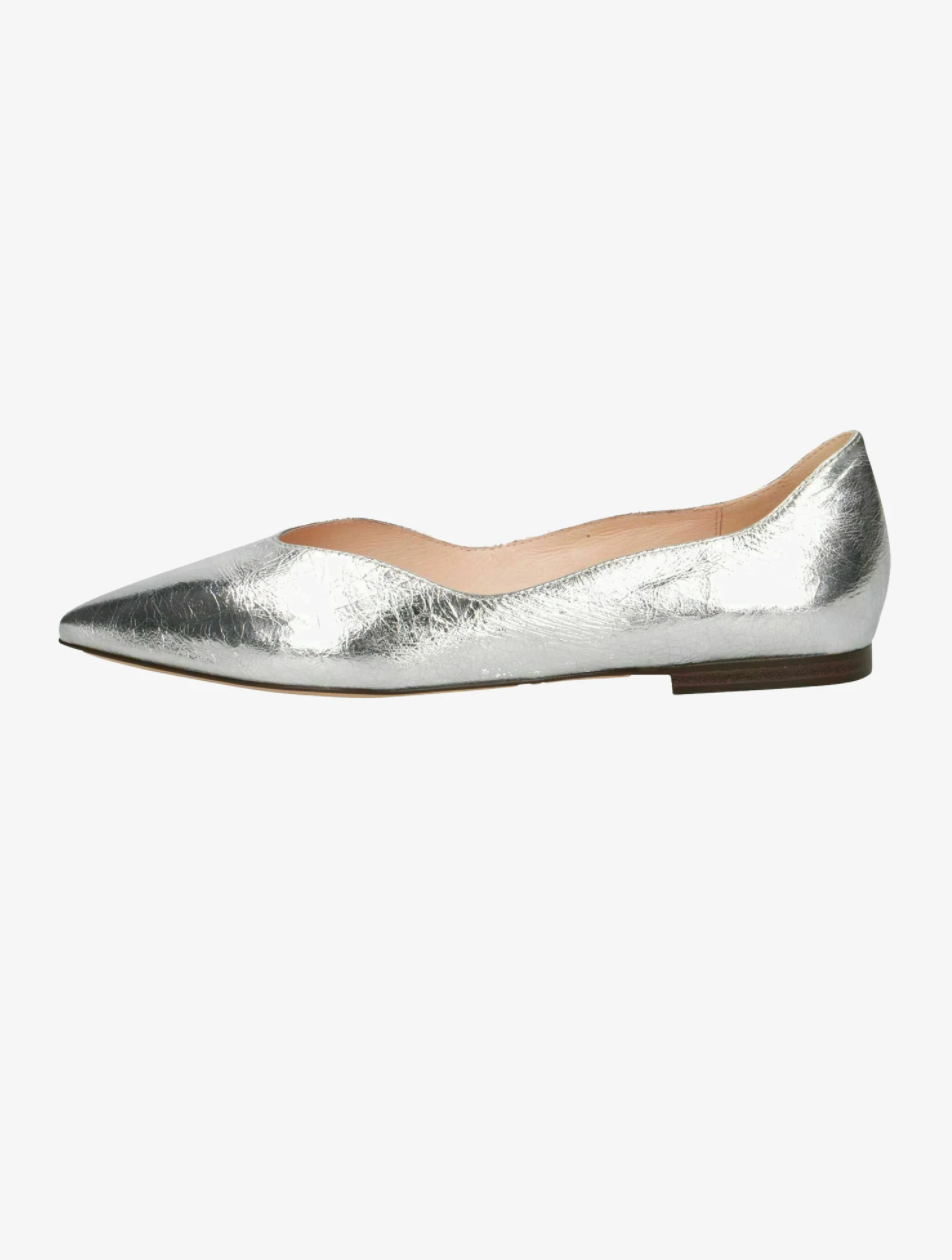 ballerine argento