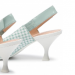 Elisangel Geox, decollete slingback e sandali di ispirazione vintage